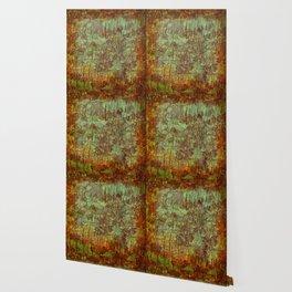 Textured Bark Wallpaper