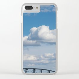Span and Sails Clear iPhone Case