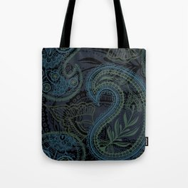 Paisley and Undines Tote Bag