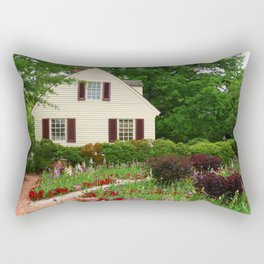 Cottage Garden - Colonial Williamsburg Rectangular Pillow