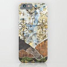 Compass Rose Garden Slim Case iPhone 6s