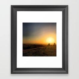 Ephemeral Atmosphere Framed Art Print
