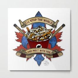 Canadian Salad Metal Print
