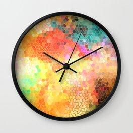 Rainbow Sherbert Wall Clock