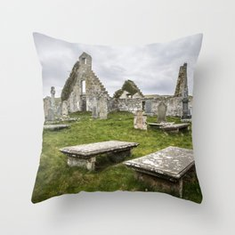 Balnakeil Church Throw Pillow