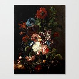 "Ernst Stuven ""Still life of flowers"" Canvas Print"