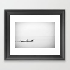 Fisherman's Blues Framed Art Print