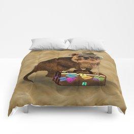 Traveller // quokka Comforters