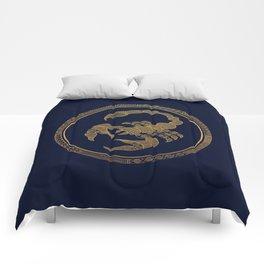 Golden Zodiac Series - Scorpio Comforters