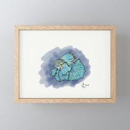 Betta Believe It Framed Mini Art Print