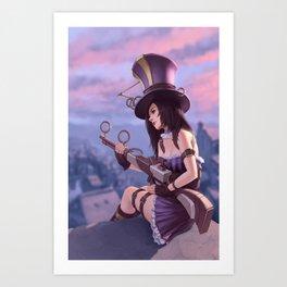 Caitlyn Art Print
