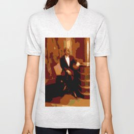 Cotton Club Unisex V-Neck