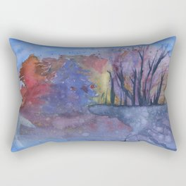 Watercolor 01 Rectangular Pillow