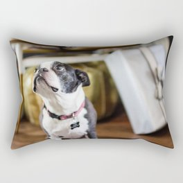 Boston Terrier Rectangular Pillow