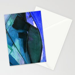 Abstraction 317I by Kathy Morton Stanion Stationery Cards