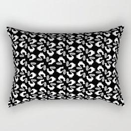 Snooty pattern Rectangular Pillow