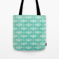 victorian Tote Bags featuring Victorian by Zach Terrell