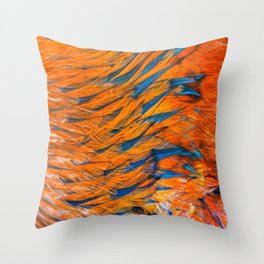 """""""The Art Of Feathers"""" Throw Pillow"""