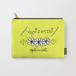 Phonetic Optimist Carry-All Pouch