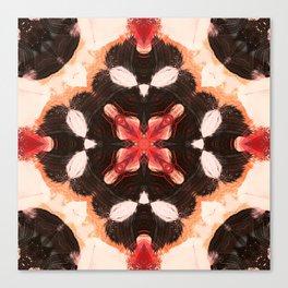 Camo Transmitter Kaleidoscope Print Canvas Print