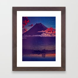 A Sunset for Hara Framed Art Print