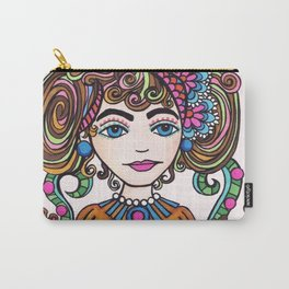 Style Girl - No 21 - Doodle Drawing Carry-All Pouch