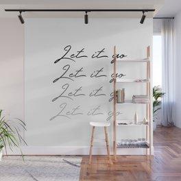 Make Like Elsa & Let It Go Wall Mural