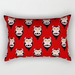 Red Devils Rectangular Pillow