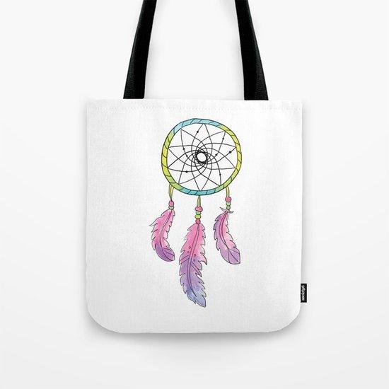 Tribal Dream Catcher Tote Bag