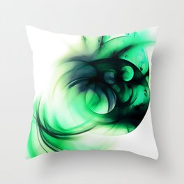 abstract fractals 1x1 reacmagi Throw Pillow