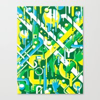 brazil Canvas Prints featuring Brazil by Roberlan Borges