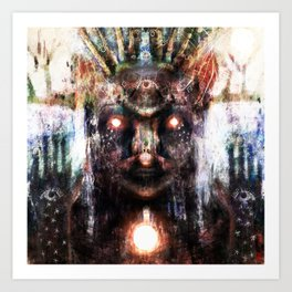 Dryhtnas Wirpa - Gods of Change Art Print