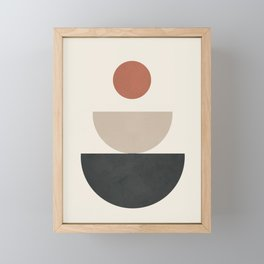 Geometric Modern Art 30 Framed Mini Art Print