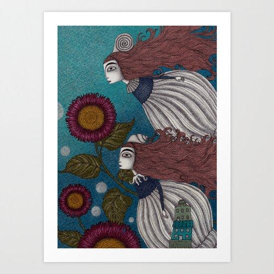 The Little Mermaid (2) Art Print