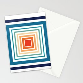 Square Biz Stationery Cards