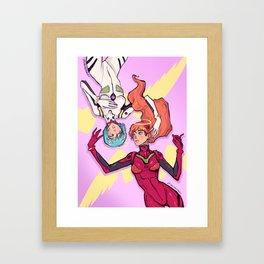 Rei x Asuka Framed Art Print