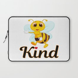 Bee Kind & Loving, Anti Bullying, Autism Awareness, Save the Bees & the Environment Laptop Sleeve