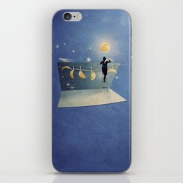 The moon changer iPhone Skin