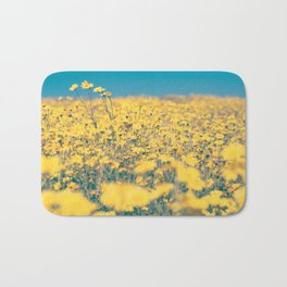 Sea of Yellow Bath Mat