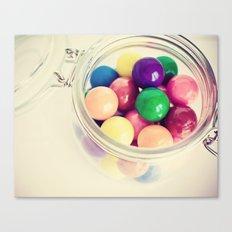 Bubble Gum Delight Canvas Print