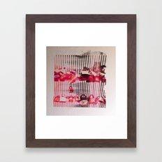 LOVE LOCK Framed Art Print