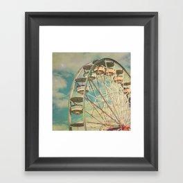 Ferris wheel 1 Framed Art Print