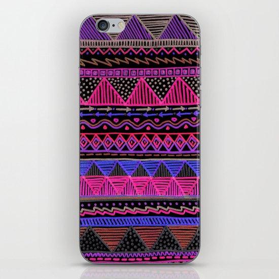 Ocean T Neon iPhone & iPod Skin
