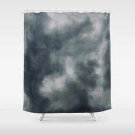 Moody Shower Curtain