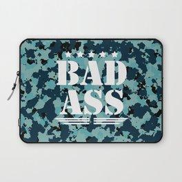 Bad Ass Aqua Laptop Sleeve