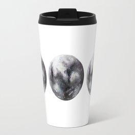 Moon phases watercolor painting Travel Mug
