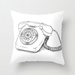 Phone Throw Pillow