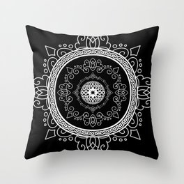 Celtic Soul Mandala Throw Pillow