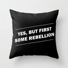Rebellion Throw Pillow