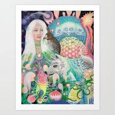 Spirit Fruit Art Print